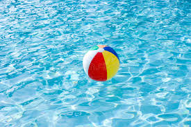 pool water with beach ball. Download Beach Ball Floating On Surface Of Swimming Pool Stock Image - Copy, Water With S