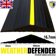 genuine wd weather defender garage door floor seal draught excluder adhesive