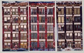 Street Story Quilt | Faith Ringgold | 1990.237a-c | Work of Art ... & Street Story Quilt Adamdwight.com