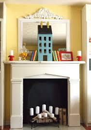 build fake fireplace mantel