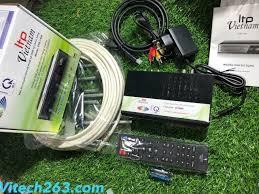 SIÊU RẺ] Combo Đầu Truyền Hình Măt Đất DVB T2 LTP STB1406, Ănten 15M, Cáp  HDMI 1.5M, Giá siêu rẻ 399,000đ! Mua liền tay! - SaleZone Store