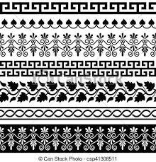 Greek Vase Patterns
