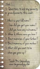 best reunie images writing family gatherings  5 questions to ask your parents or grandparents this week week 1 teach me