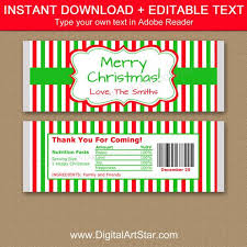 Free printable candy bar wrappers   simple christmas gift from www.kenarry.com. Christmas Candy Bar Wrappers Instant Download Christmas Chocolate Bar Wrappers Holiday Candy Wrapper Printable Holiday Party Favors Csv By Digital Art Star Catch My Party