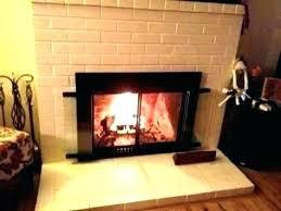 fireplace doors and screens bronze pleasant hearth glass door screen with small easton doo