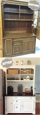 how to repurpose furniture. DIY Furniture Makeovers: Thrift Store Hutch Makeover. How To Repurpose