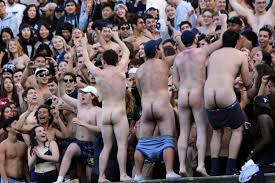 College naked party yale