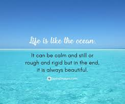 Beautiful Ocean Quotes Best of Quotes About Life Life Quotes Pictures