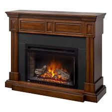 3 braxton electric fireplace mantel package in burnished walnut 3