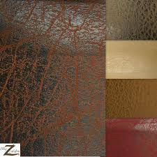 vinyl faux fake leather pleather 2 tone distressed granum pvc fabric
