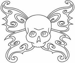 cool designs to trace. Cool Skull Designs To Trace