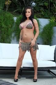 Busty Babe Jenna Presley with Massive Tits Wearing Platform High.