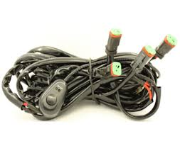 four legs wiring harness switch meters long include switch kit an illuminated on off switch and more than 8 feet of wiring this wiring harness for led off road lights simplifies the installation process of powering