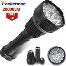 20000 lümen led el feneri 15 x cree xm-t6 led 5 modu su geçirmez süper  parlak led torch el feneri linterna lampe torche lamba. Çin fenerler &  torçları tedarikçiler < Işıklar &