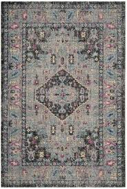 light grey black artisan de luxe home area rug