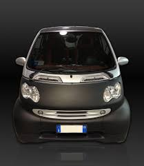 Smart Car Design Studio Smart Car Wrapping Frontale Smart Wrapping Nero Opaco