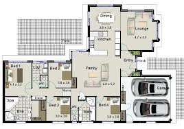4 bedroom house designs australia house plans with double garage homes floor 4 bedroom house plans