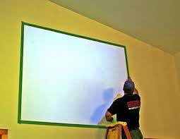 projector wall paintScreen Goo Systems for Painting a Projection Screen on Your Wall