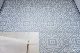 how to install vinyl floor stickers that are rated for kitchens and bathrooms