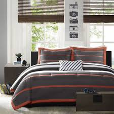 peaceful ideas orange and gray bedding sets bedroom black gold comforter set grey bedspread teal white fingerhut