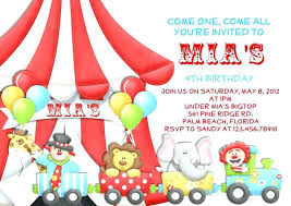 Carnival Birthday Party Invites Plus Free Printable Carnival Themed