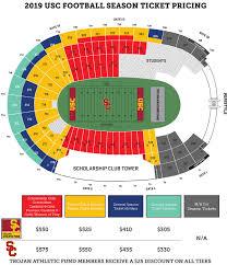 Usc Football Seating Chart 2018 40 Meticulous Ucla Basketball Seating Chart