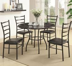 Black Wood Dining Chairs Dining Room Gorgeous Metal Dining Chairs Dining Rooms
