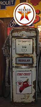 gilbarco gas pump. original old texaco gas pump, gilbarco 900 series, usa 1953 pump