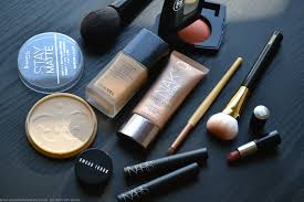 neutral work office makeup with warm brown mac eyeshadows brown script coppering typographic indian darker skin