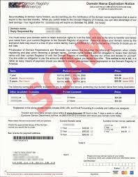 Fraud Skyhound Domain Internet Alert - Invoices Fake
