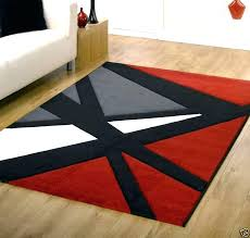 black and grey area rugs red black and grey area rugs royal contemporary medallion rug white