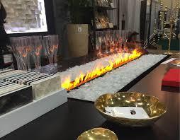 Water Fireplace  AquaFire Insert  Clean FlamesWater Vapor Fireplace