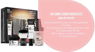 hd plexion starter kit make up for ever