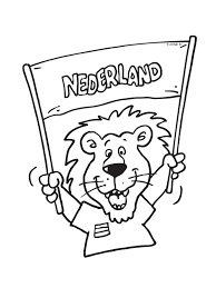 Kleurplaten Holland Voetbal Brekelmansadviesgroep