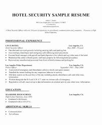 Property Manager Resume Cover Letter Ideal Securityguard Resume