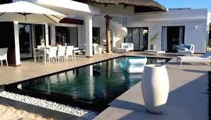 vente villa plage à pied trou aux biches ile maurice