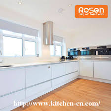 best quality diy kitchen cabinet plywood board finished with white melamine custom made in china