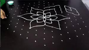 Telugu Muggulu Designs With Dots Big Rangoli Designs With Dots New Muggulu Telugu Muggulu