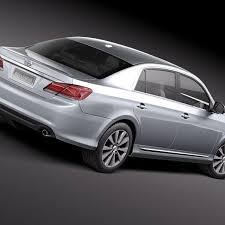 Toyota Avalon 2011 3D Model $129 - .obj .lwo .fbx .c4d .max .3ds ...