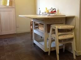 drop leaf kitchen table with storage elegant drop leaf storage table do it yourself home projects