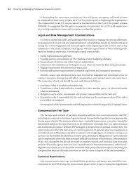 chapter negotiating and contracting for professional services page 42