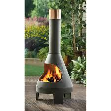 furnitures make your patio more comfy with chiminea for outdoor chimney fireplace chiminea cast iron chimenea