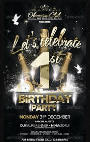 25+ Birthday Party Flyer Design, Psd Download | Design Trends ...