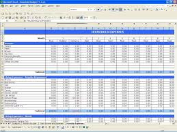 sample household budget yearly budget template monthly expense spreadsheet template with