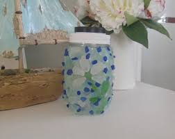 how to make a solar sea glass light