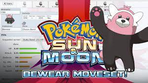 Bewear Moveset Guide! How to use Bewear! Pokemon Sun and Moon! w/  PokeaimMD! - YouTube