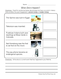free picture sequencing worksheets for kindergarten