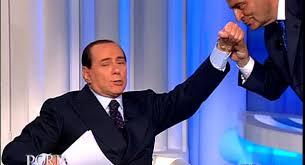 Berlusconi apre maratona televisiva da Vespa