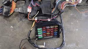 c4 corvette wiring harness c4 image wiring diagram 1991 1991 c4 corvette main interior dash wiring harness oem 12116500 on c4 corvette wiring harness