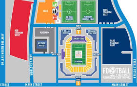 Fc Dallas Seating Chart Toyota Stadium Guide F C Dallas Football Tripper